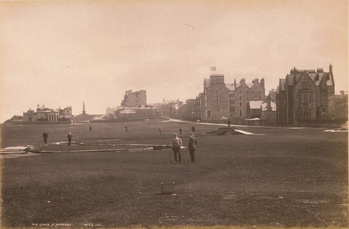 The Old Course in 1891 - Looks pretty similar to today!