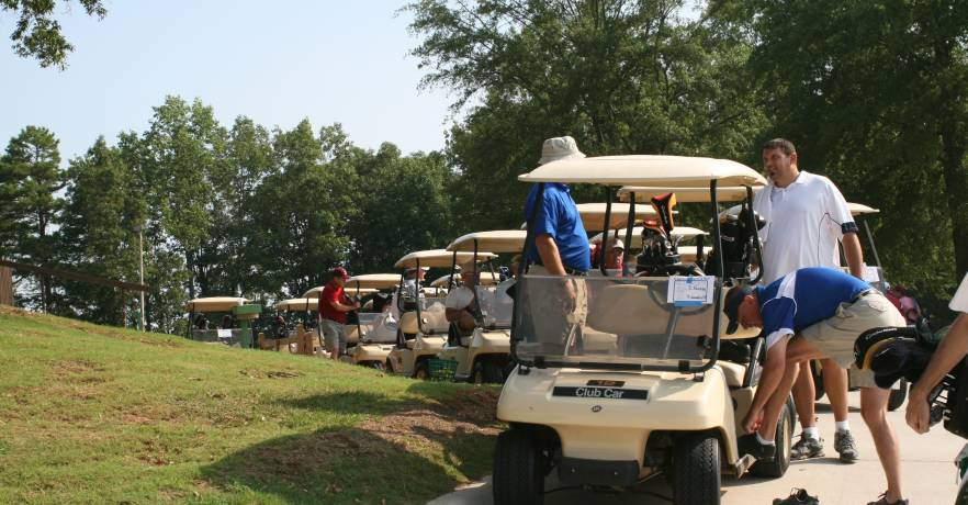 LGSP Golf Carts Line-up (2)