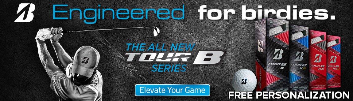 Bridgestone Tour B Series Balls - Bridgestone Tour B Balls at Rock Bottom Golf!