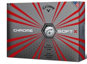 Callaway 2017 Chrome Soft X Golf Balls