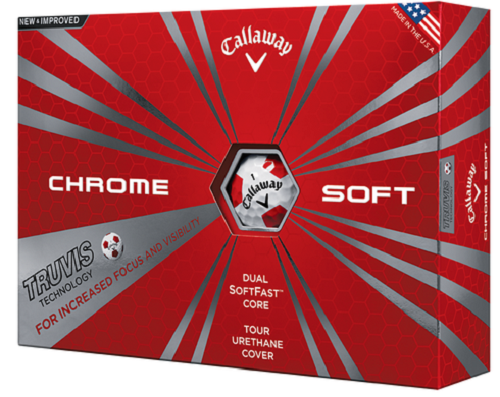 Callaway Chrom Soft Truvis Golf Balls