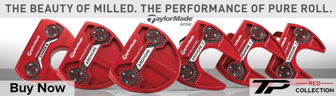 TaylorMade TP Red Putter Collection