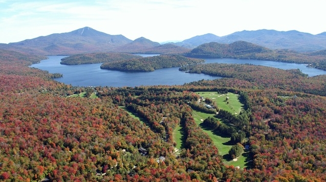 Beautiful Golf Courses in the Fall