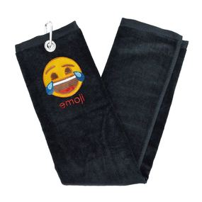 Emoji Golf- Trifold Towel