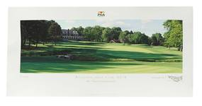 PGA Championship 2016 Baltusrol Golf Club Hole No. 18 Print