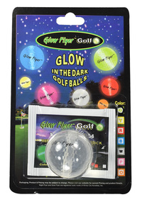 Night Flyer Golf- Glow Stick Lighted Ball