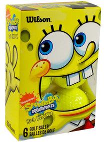 Wilson Sponge Bob 6-Pack Golf Balls