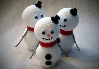 5 Great Holiday Decorations Made With Golf Equipment!