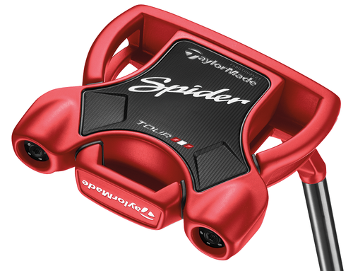 TaylorMade Golf- LH 2018 Spider Tour Red #3 W/Sight Line Putter (Left Handed)