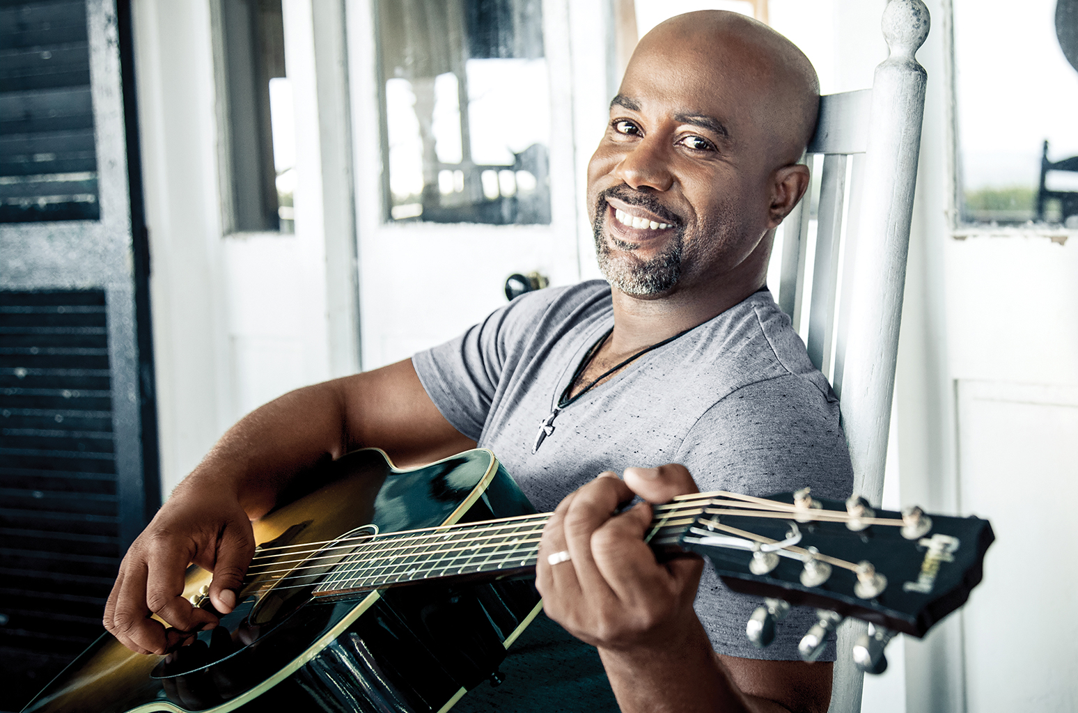 Darius Rucker - musicians who golf
