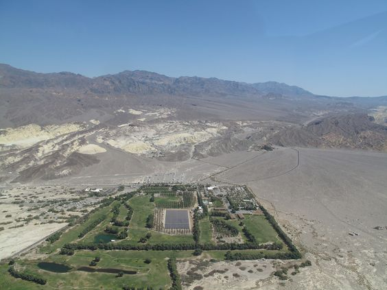 Furnace Creek Golf Course- Unique Golf Courses
