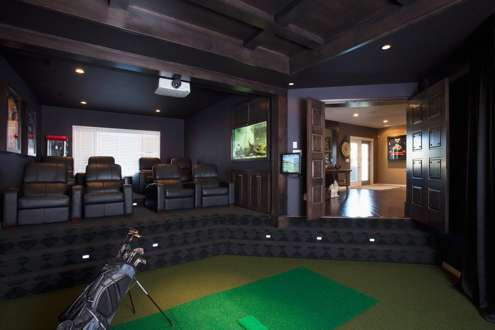Golf Inspired Man Caves You Need To See Golf Blog