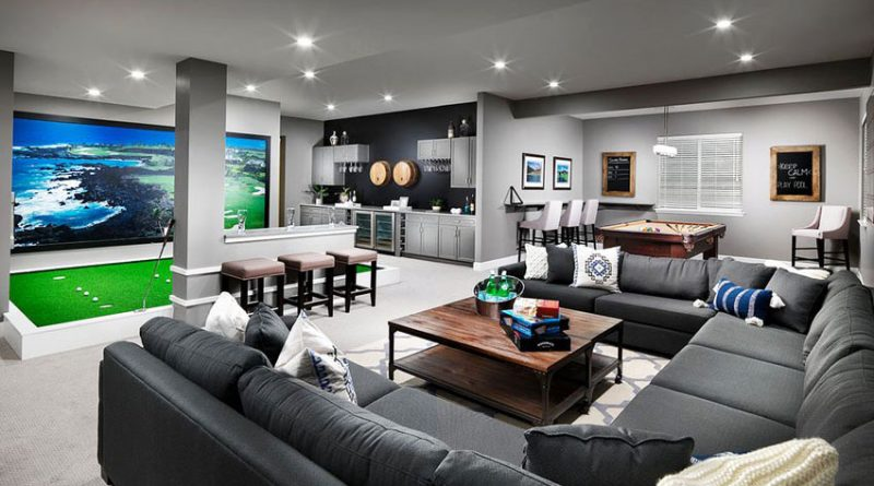 Golf-Inspired Man Caves You Need to See - Golf Blog | RockBottomGolf.com