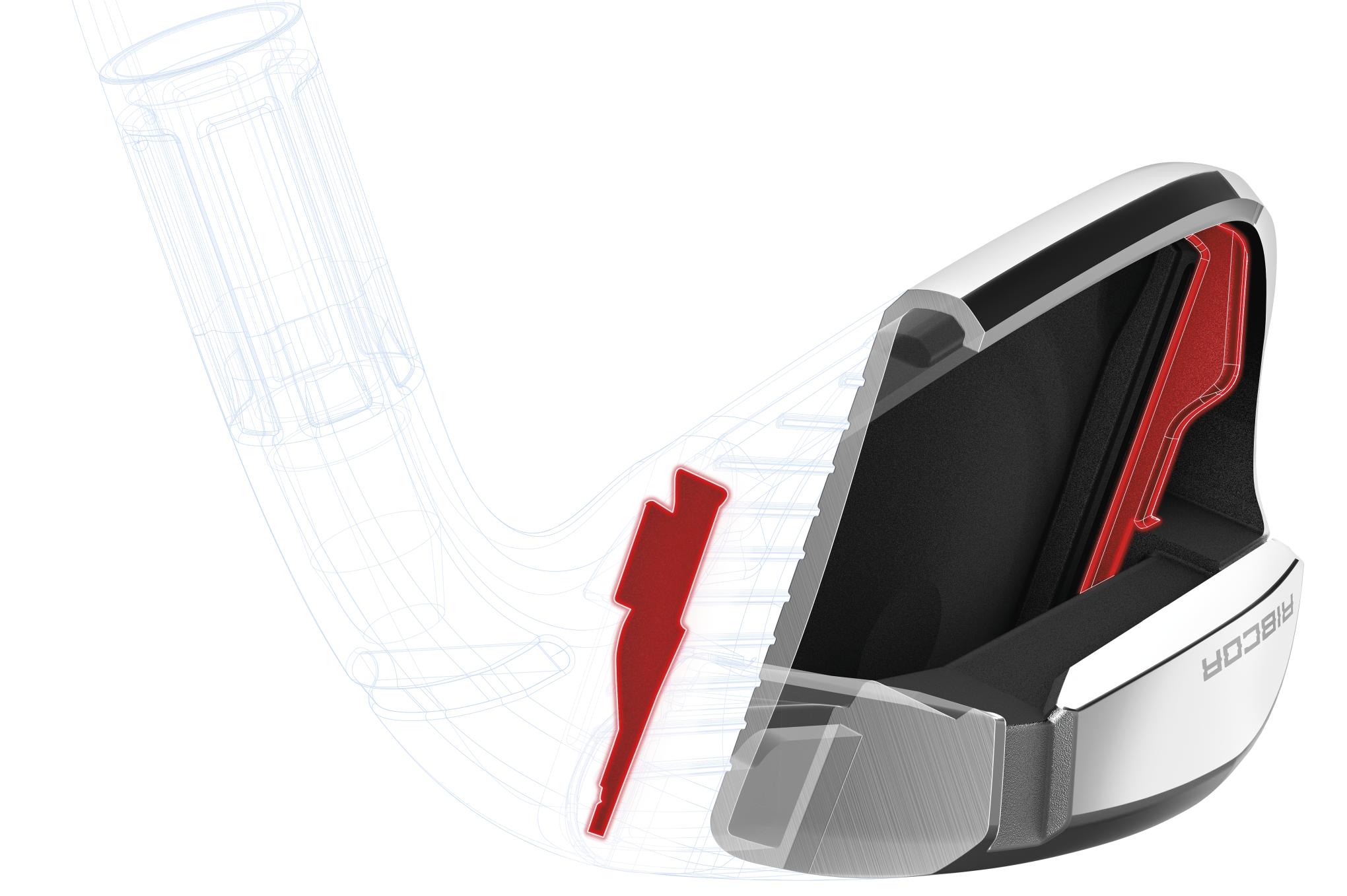 TaylorMade m2 and m4 irons - ribcor cutaway