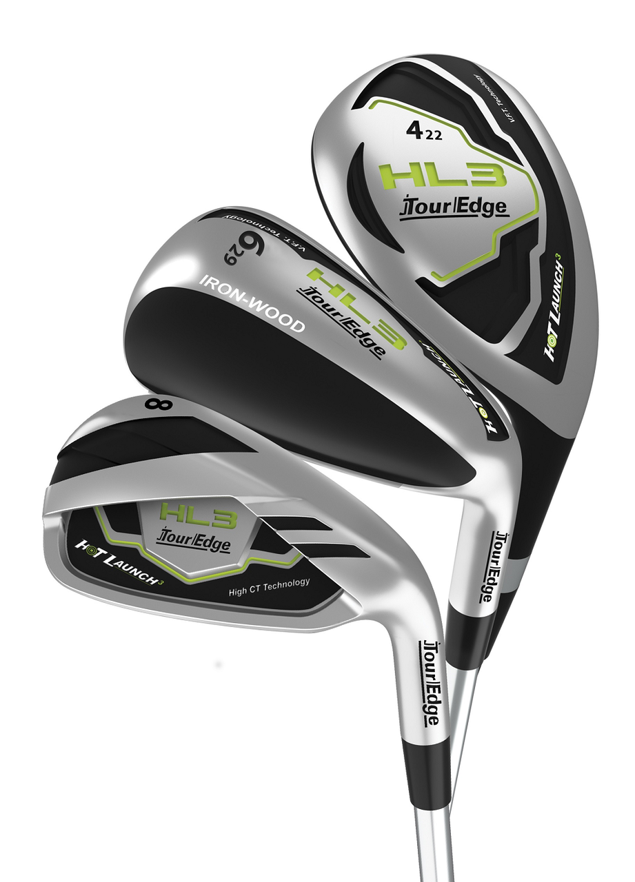 Triple Combo Irons - Hot Launch HL3 Irons