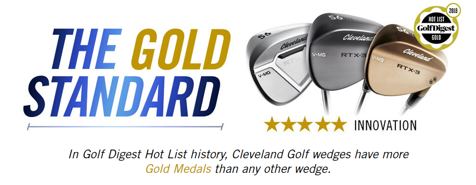 The gold standard Cleveland wedge banner