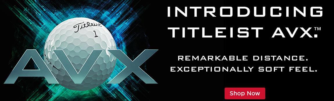 Titleist AVX banner image