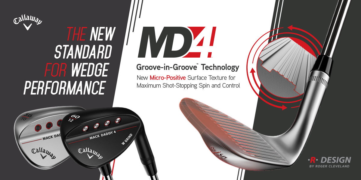 Callaway MD4 Wedges - product banner image