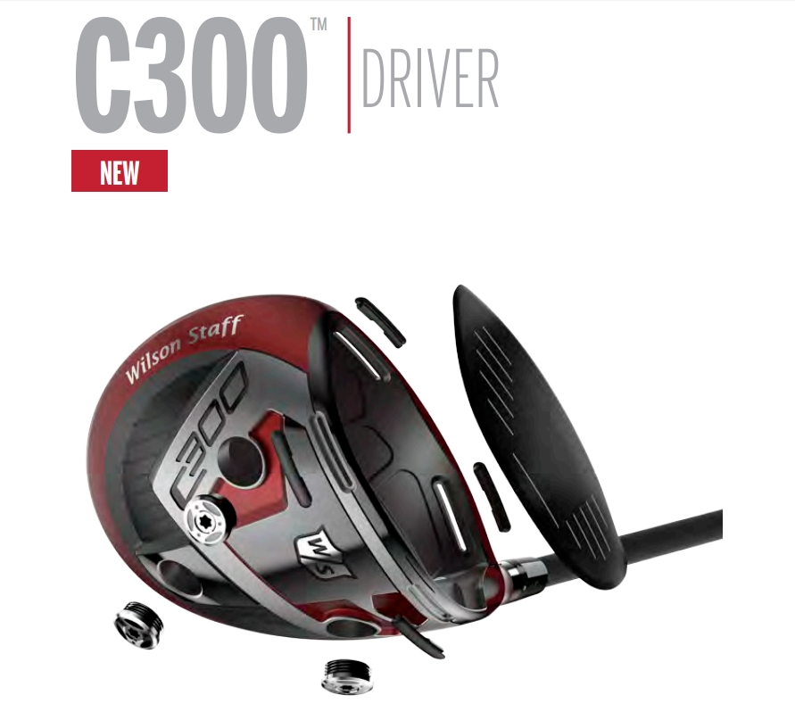 wilson staff c300 driver exploded image
