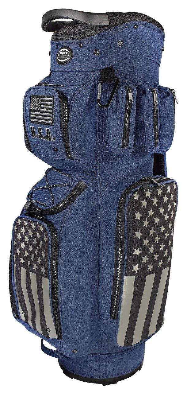 Hot-Z Golf Active Duty Cart Bag USA-Patriot