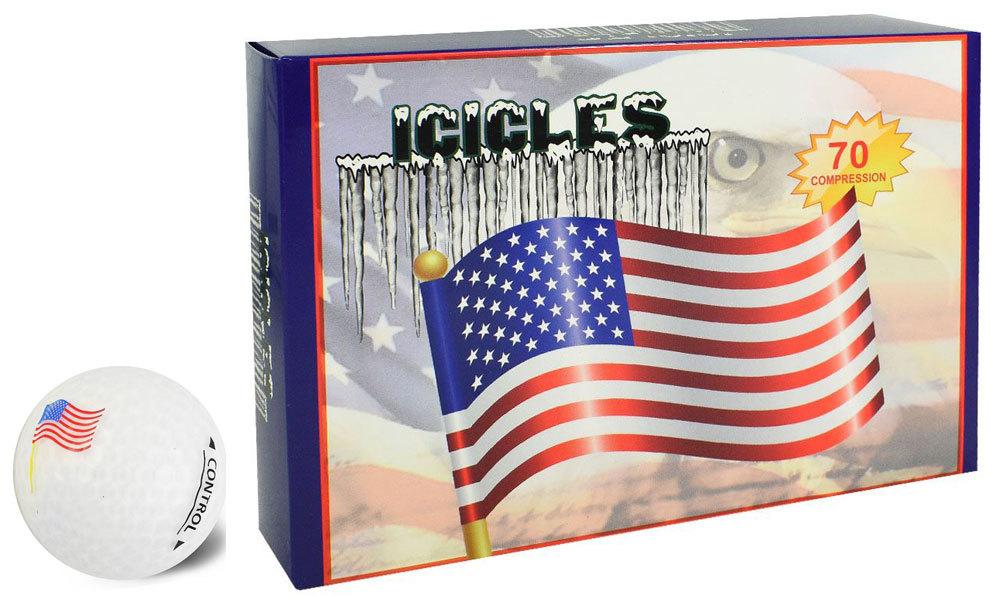 VGolf Icicles Logo Golf Balls