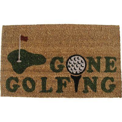 gone golfing doormat