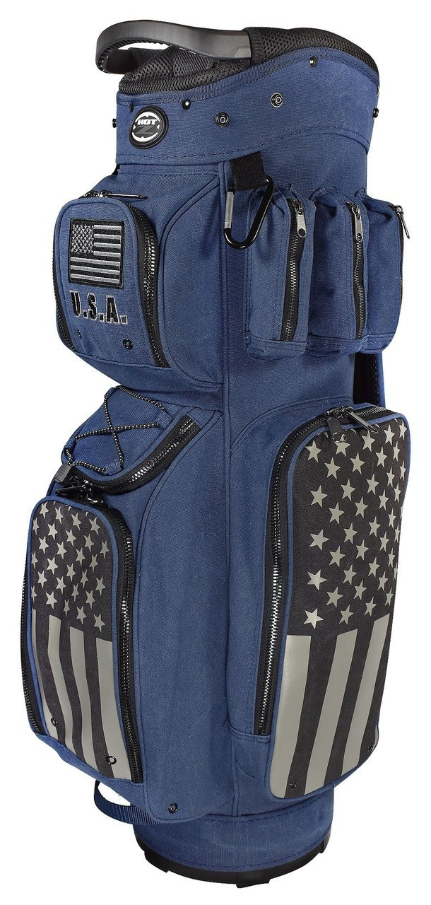 USA/Patriot - Active Duty Cart Bag - Hot-Z Military Golf Bags
