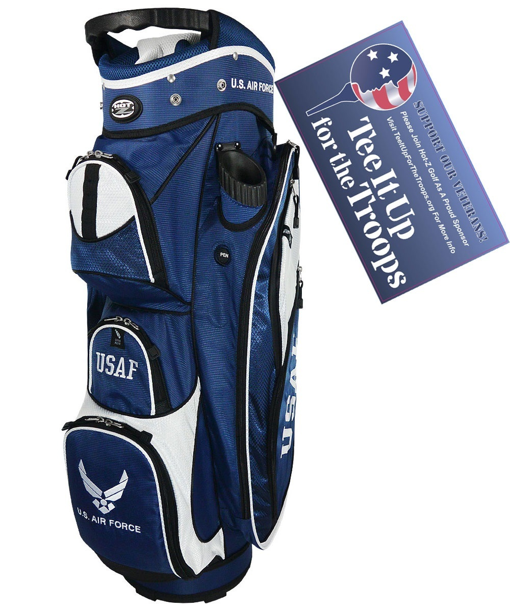 Air Force - US Military Cart Bag - Hot-Z Military Golf Bags
