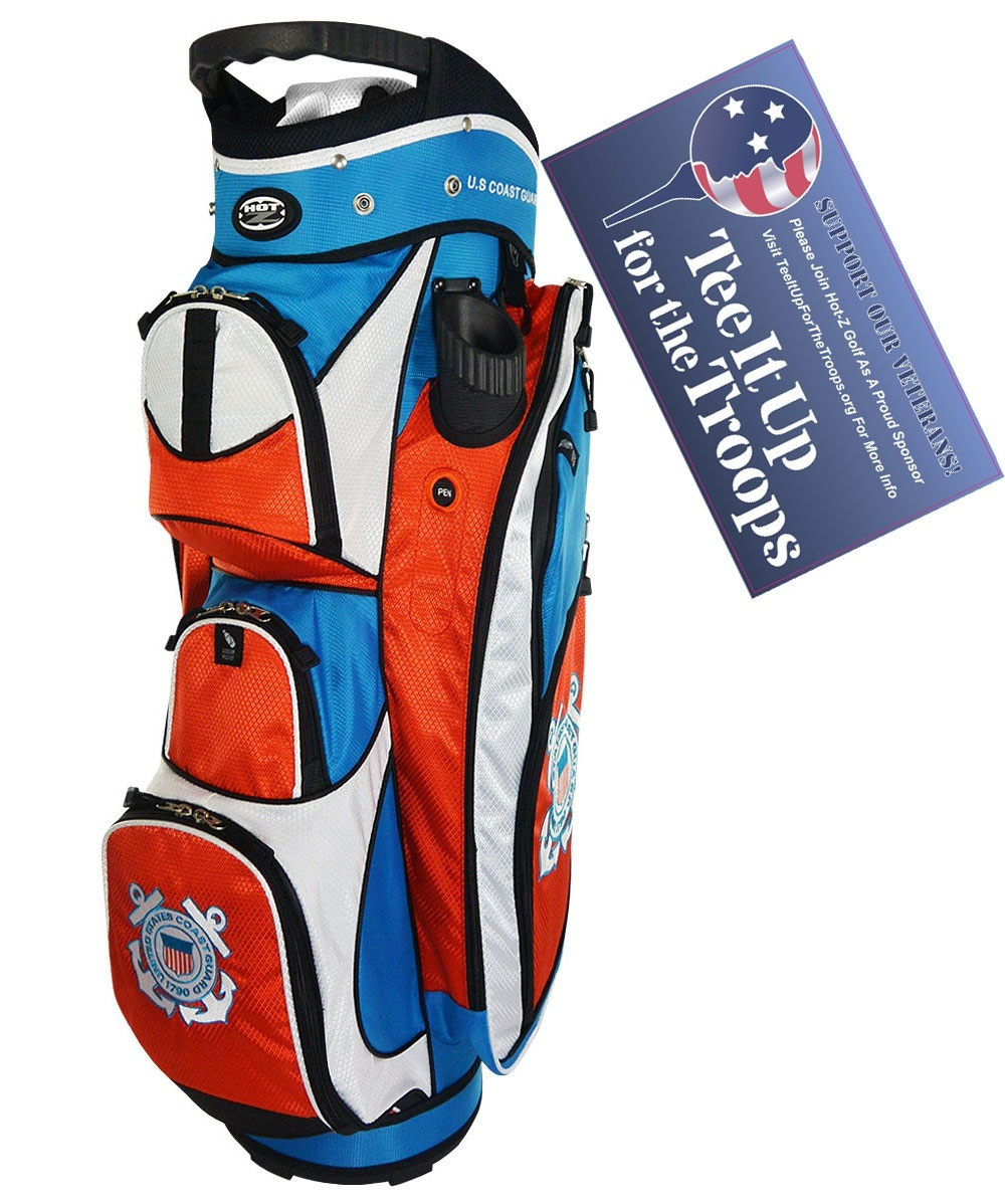 Coast Guard - US Military Cart Bag - Hot-Z Military Golf Bags