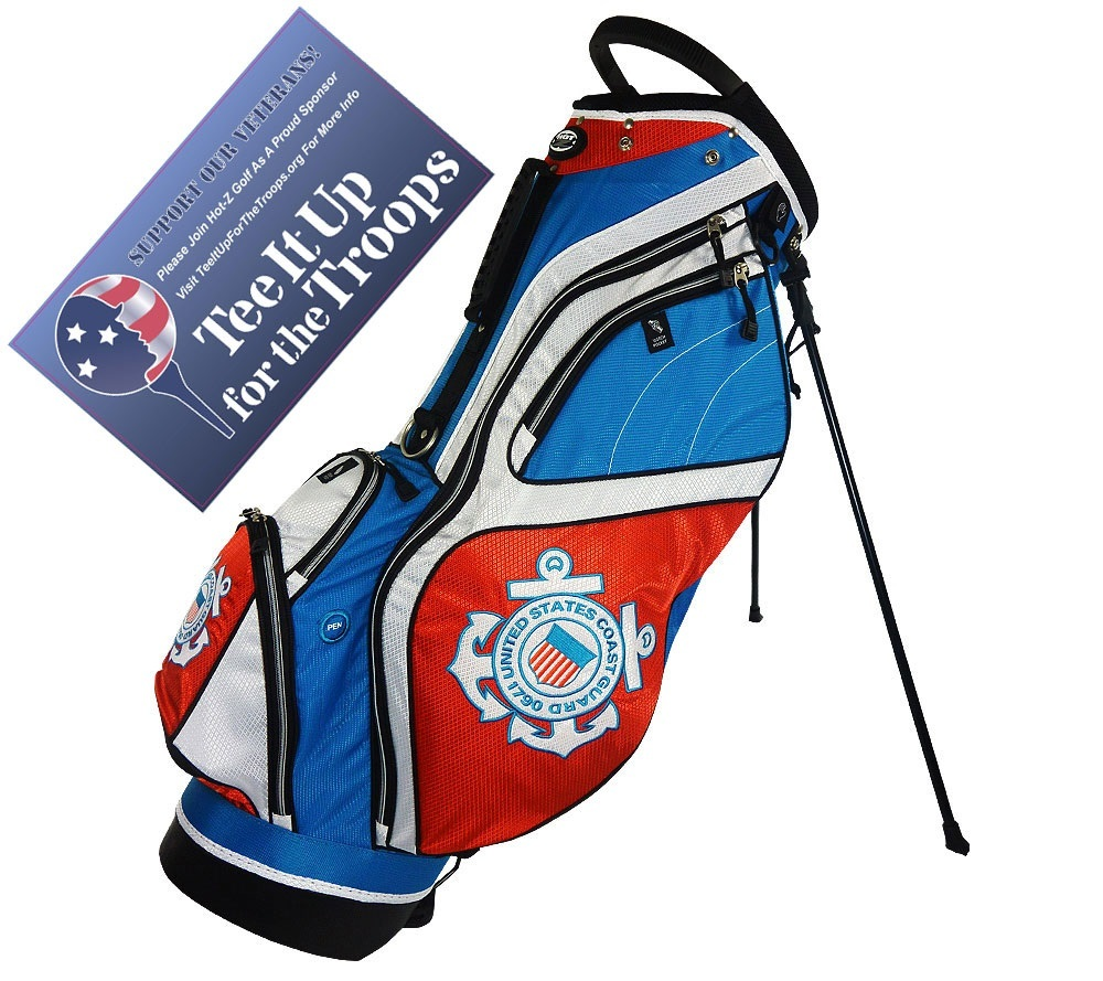 Coast Guard - US Military Stand Bag - Hot-Z Military Golf Bags