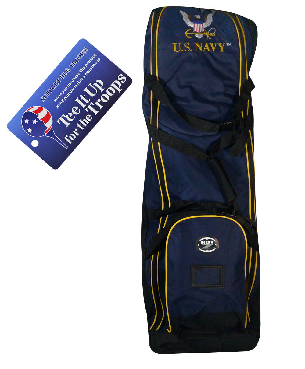 Navy - US Military Travel Cover - Hot-Z Military Golf Bags