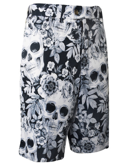 Skull Garden Shorts - Loudmouth Golf Gear