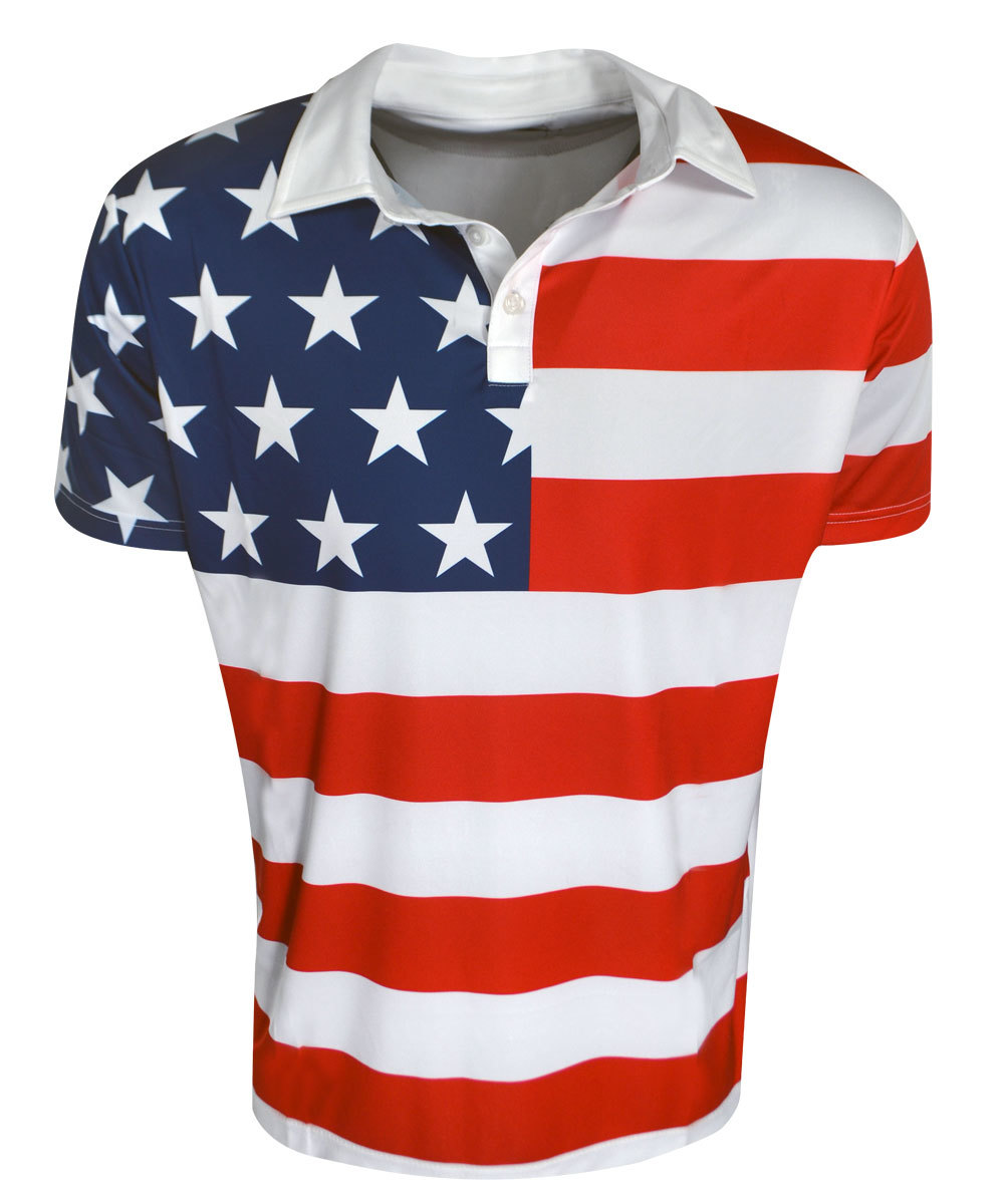 Stars & Stripes Fancy Shirts - Loudmouth Golf Gear