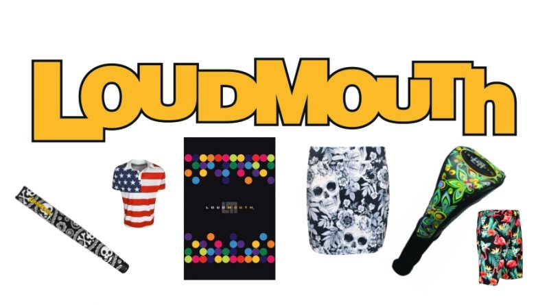 loudmouth golf gear feature image
