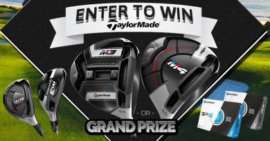 Enter to WIN a FREE TaylorMade M3 or M4 Driver, M3 or M4 Rescue, OR 3 Dozen TP5 Golf Balls!