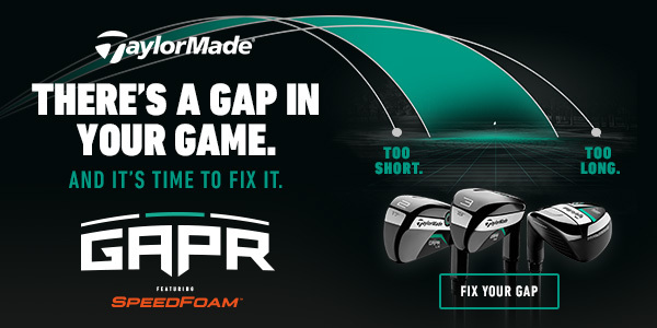 TaylorMade GAPR ad banner