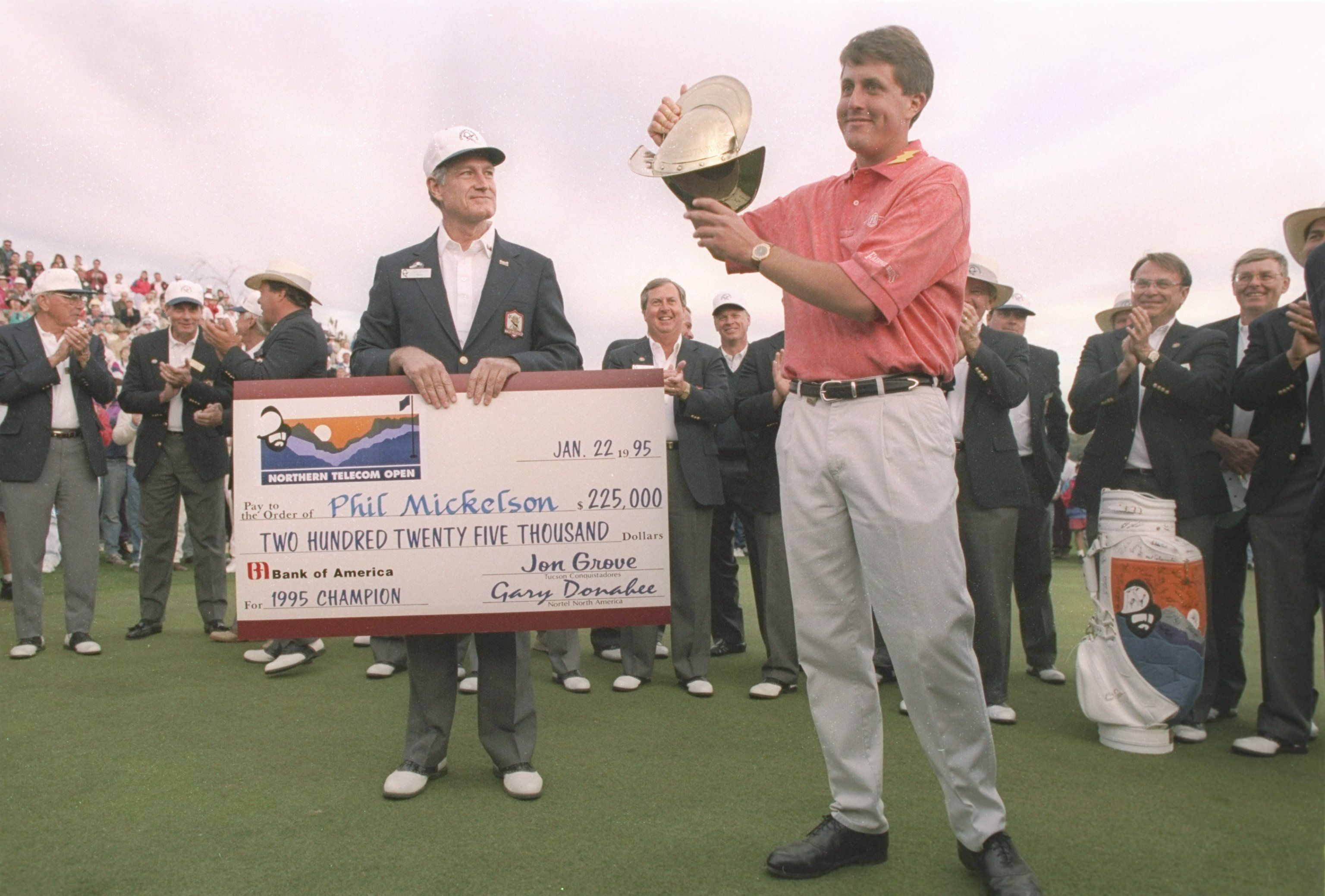 phil mickelson 1995 win at the northern telcom open