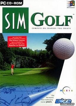 Sim Golf Cover Art - Best Golf Games