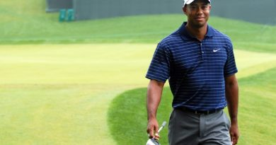 tiger woods on the course crop