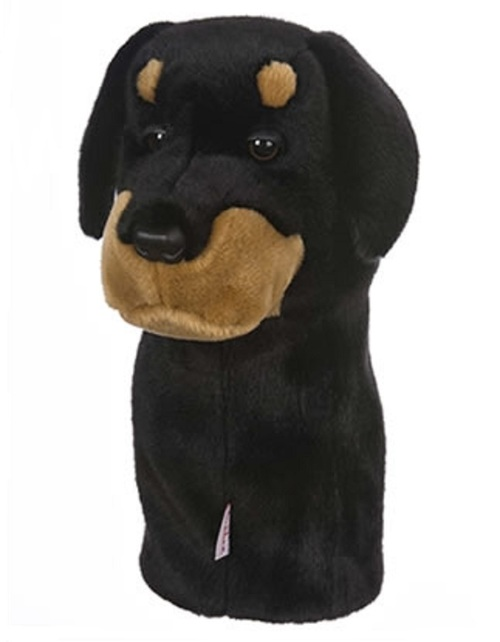 Daphne's Headcovers Rottweiler Driver & Fairway Animal Headcover