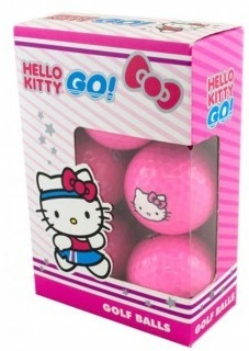 Hello Kitty Go! 6-Pack Golf Balls