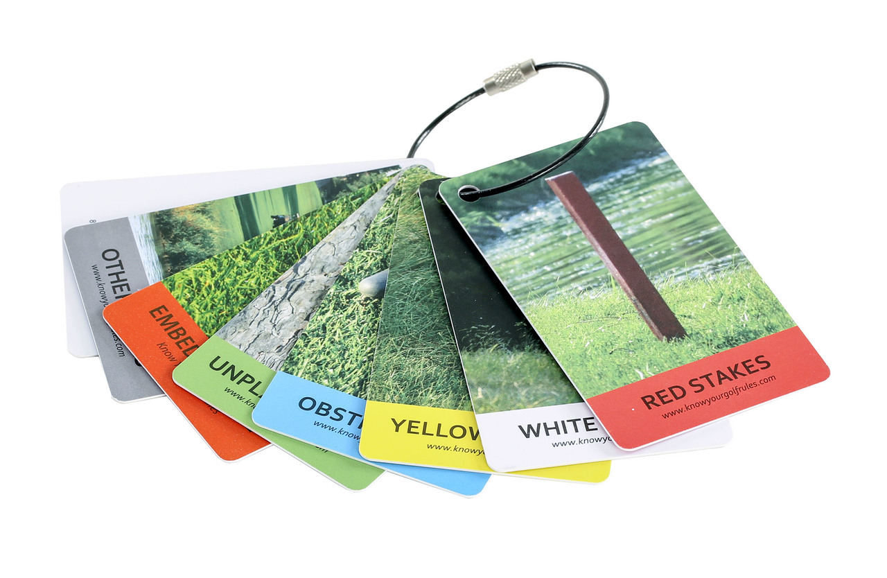 Izzo Golf - Know Your Rules Bag Tags
