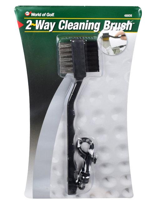 Jef World of Golf 2-Way Cleaning Brush