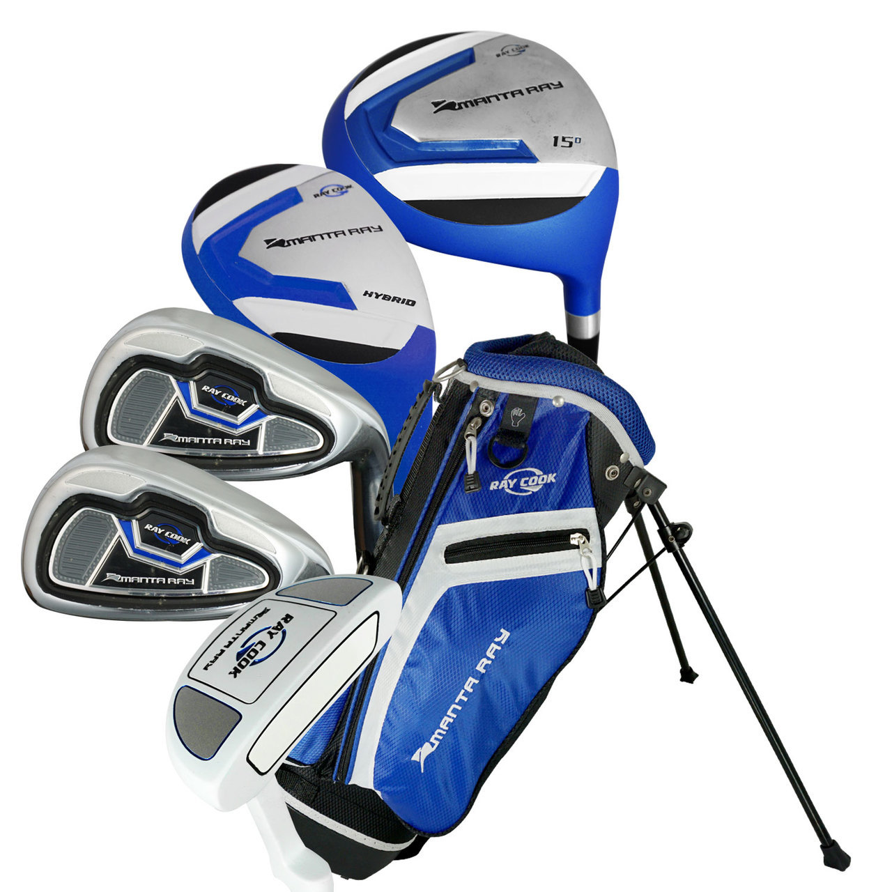 Ray Cook Golf Manta Ray 8 Piece Junior Set with Bag