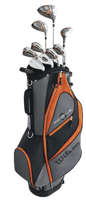 Wilson Golf Profile XD Teen Complete Set With Bag Graphite