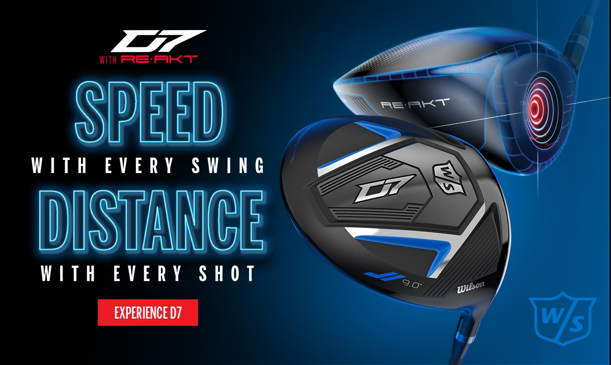 Wilson Staff D7 Driver product banner
