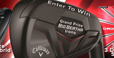 Enter To Win – Callaway Big Bertha OS Irons, Rogue Hybrid, or Callaway Chrome Soft Balls