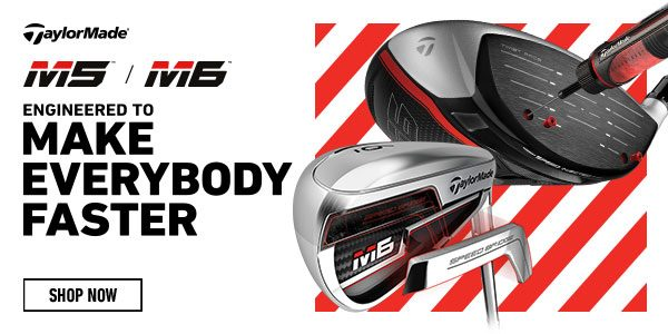 TaylorMade M5 M6 product banner
