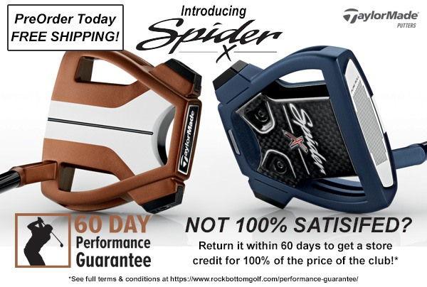 TaylorMade Spider X Putter promo banner image