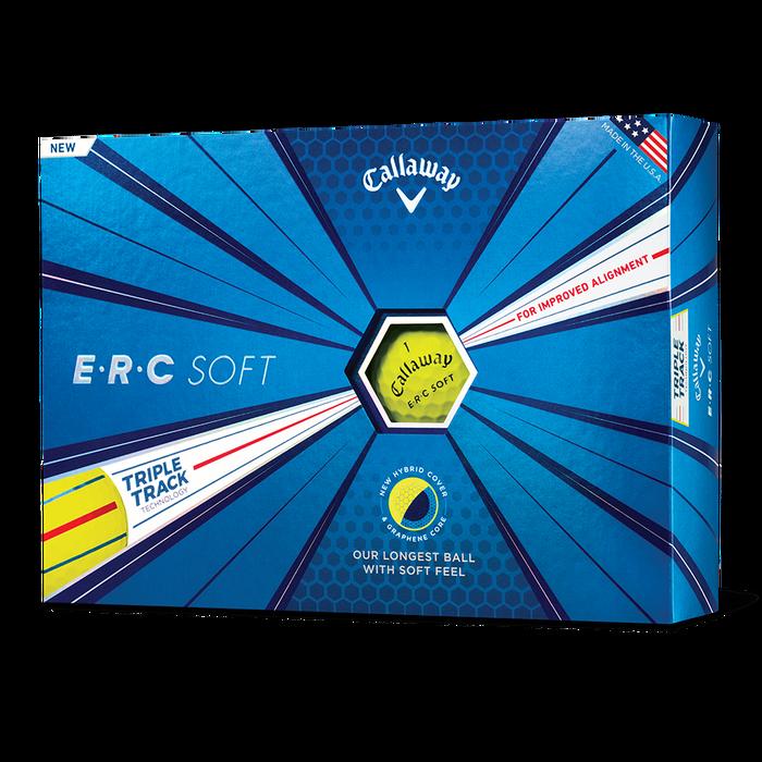 Yellow ERC Soft Golf Balls